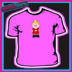 ONLY GAY IN THE VILLAGE CARTOON WEE MAN TSHIRT
